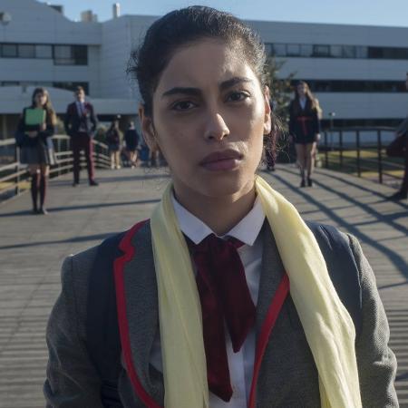 Mina El Hammani, Nadia de 'Elite' - Manuel Fernandez-Valdes / Netflix