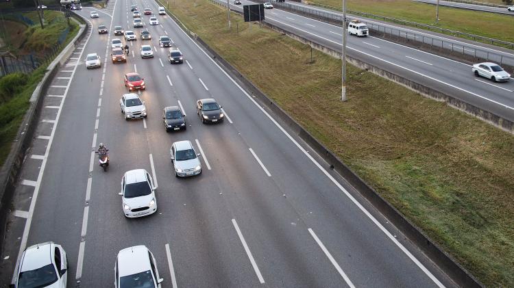 Férias no início do verão têm tráfego normal nas estradas de São Paulo - 20.05.2020