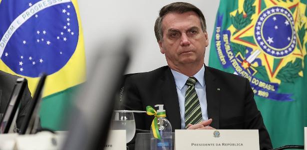 Celso de Mello remove a confidencialidade da reunião na investigação que investiga Bolsonaro - 22.05.2020.
