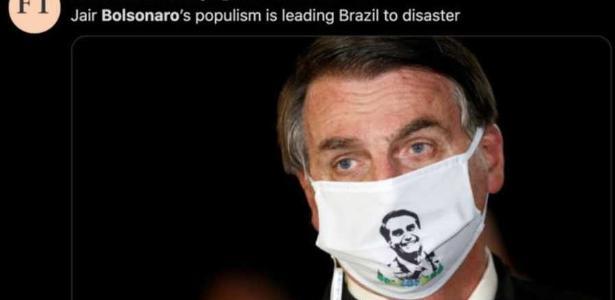 De 'quebrar o Brasil' a 'país líder em desastre', a imagem de Bolsonar na imprensa internacional - 25.05.2020.