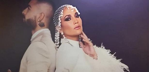 Jennifer Lopez e Maluma filmaram uma cena de filme em casa, durante a quarentena - 22.05.2020