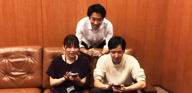 O aplicativo japonês permite que os fãs interajam em jogos sem uma audiência