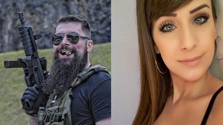 Deputado Paulo Bilynskyj, 33, e modelo Priscila Delgado de Bairros, 27 - Arquivo pessoal