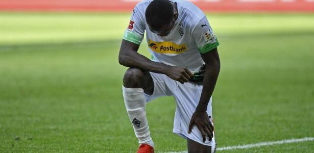 Marcus Thuram tornou-se um símbolo de anti-racismo no futebol