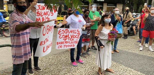 Em Grajaú, médico torturado participa de protestos e busca justiça