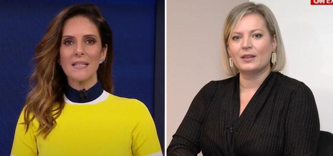 Monalisa Perrone diz ao vivo que a CNN Brasil processará Joice Hasselmann · TV News