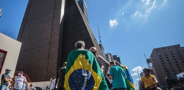 São Paulo jogou a favor e contra o Bolsonar neste domingo - 07.07.2020