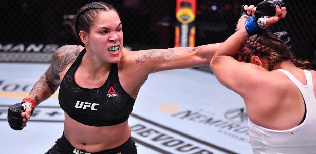 Amanda Nunes recebe suspensão médica de seis meses após o UFC 250
