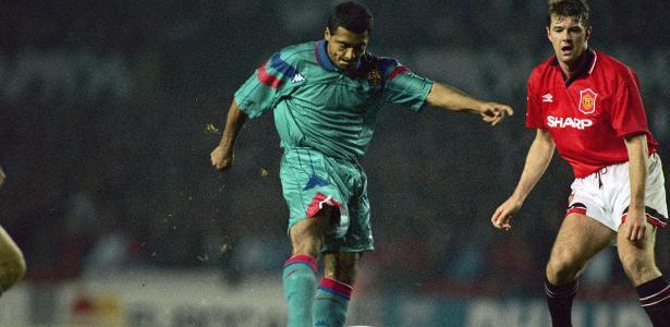 """Romário """"parou de treinar"""" em Barcelona, dando um chapéu a Guardiola, diz ex-colega"""