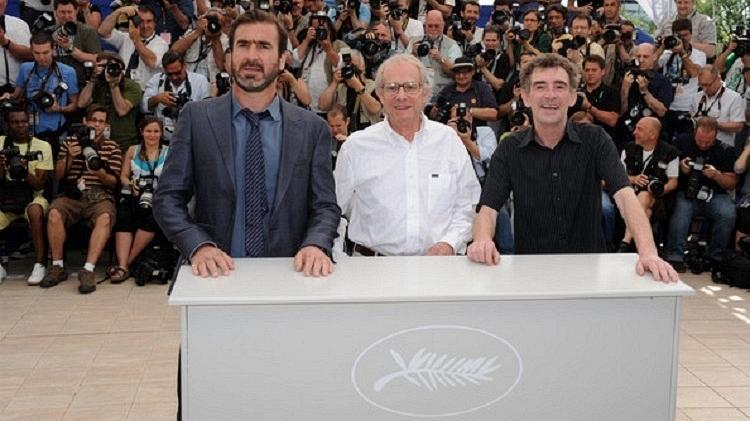 Eric Cantona, Ken Loach e Steve Evets no Festival de Cannes de 2009 - Pascal Le Segretain / Getty Images - Pascal Le Segretain / Getty Images