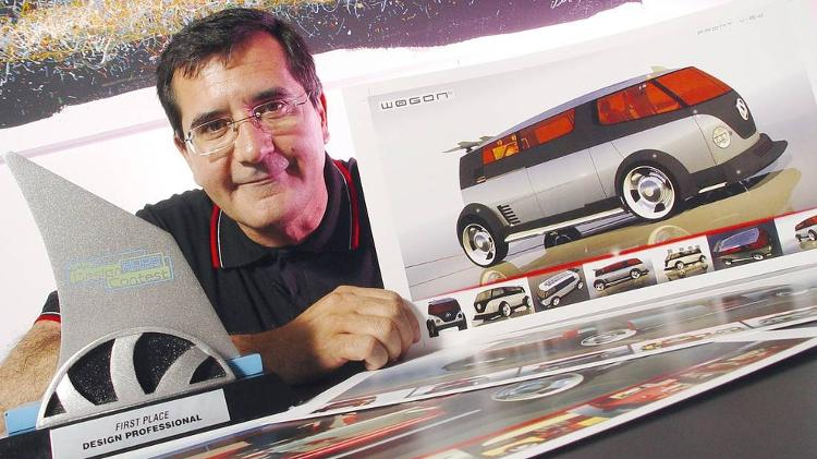 Luiz Alberto Veiga, ex-designer da VW - Press release - Press release