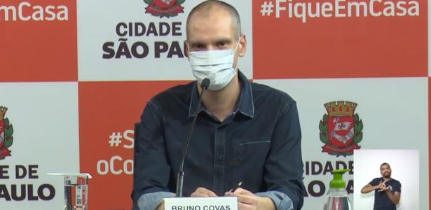 Depois de tomar o covid-19, Covas diz que pode deixar o isolamento - 24.06.2020
