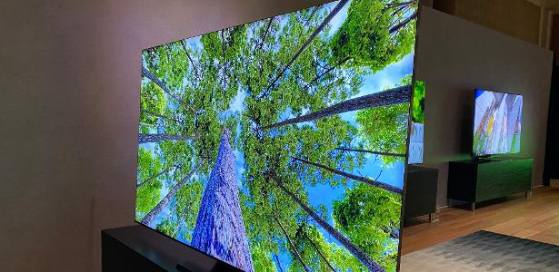 """A TV 8K da Samsung oferece """"som em movimento""""; o modelo mais caro custa R $ 99,999 - 16.06.2020"""