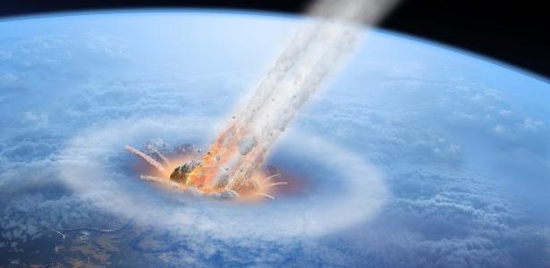 A queda de asteróides nos oceanos pode ter criado vida na Terra e até em Marte - 6.8.2020