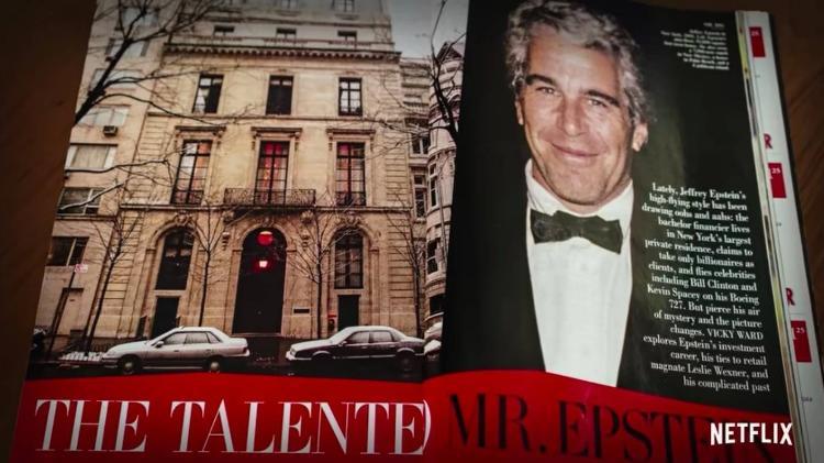 História da Vanity Fair com Jeffrey Epstein: em vez de reclamações, a versão final exalta o milionário - Playback / Netflix