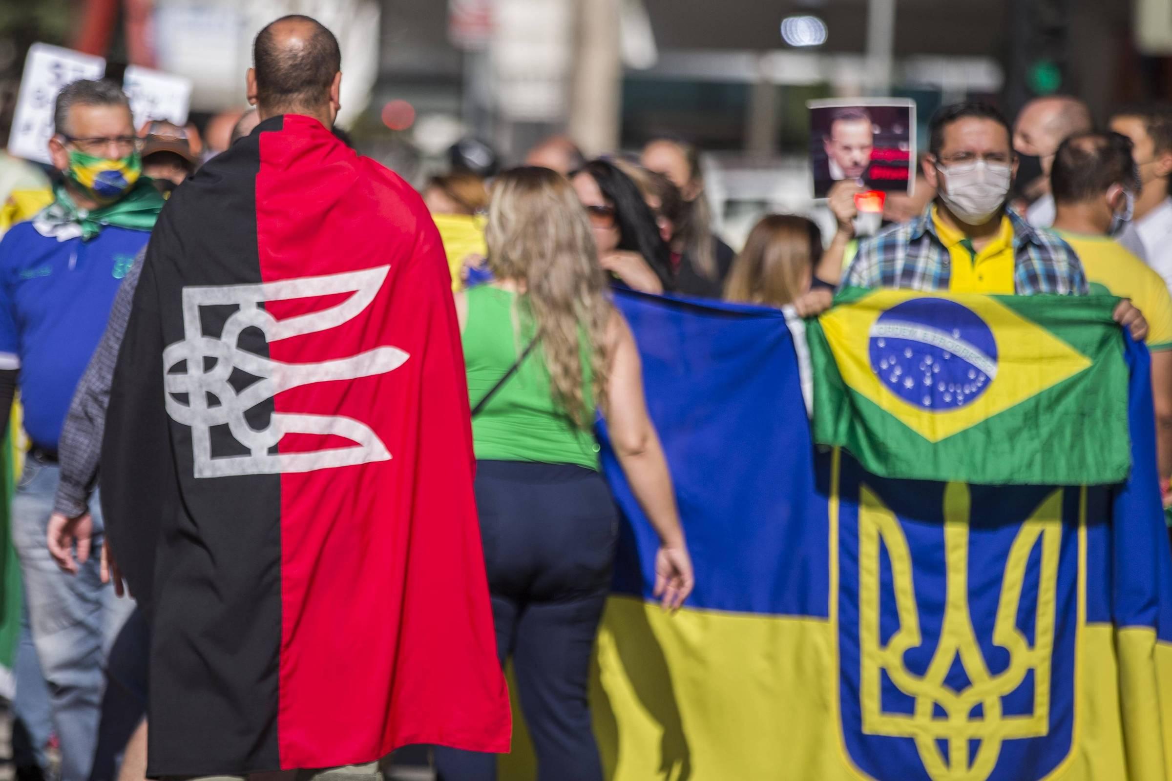 A socialização entre os bolonistas e o grupo neonazista ucraniano perturba a Rússia - 31 de maio de 2020. - O mundo