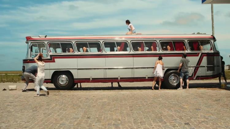 ônibus de partida - Pandora - Pandora