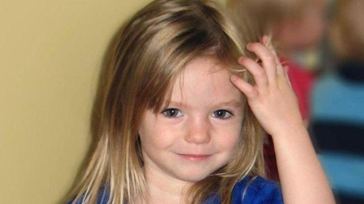 Girl Madeleine McCann, desapareceu em 2007, aos 3 anos de idade - PA MEDIA