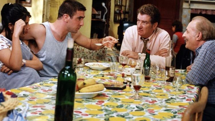 Eric Cantona em sua estréia no cinema - Reprodução - Reprodução