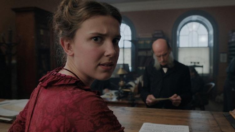 Millie é conhecida por seu papel como Eleven na série