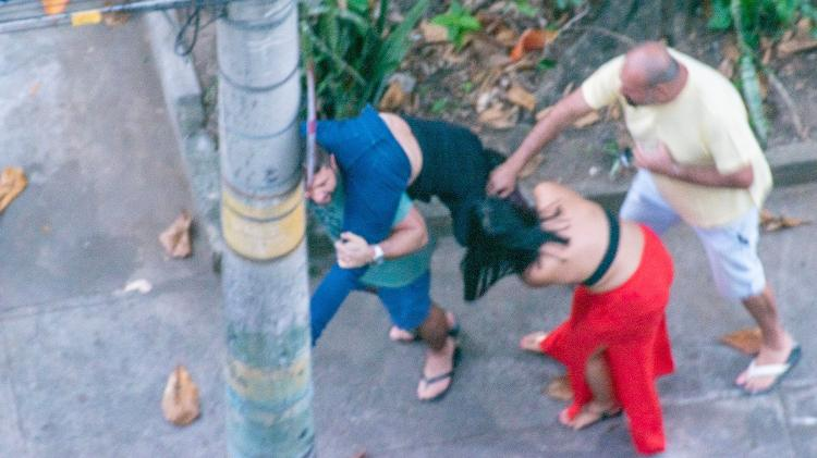 30 de maio de 2020 - Dr. Ticyana é atacada no Rio de Janeiro - Reprodução