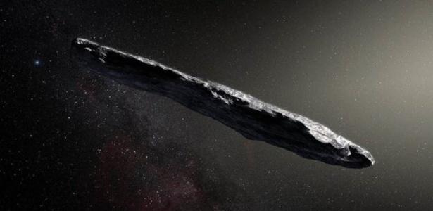 Oumuamua: misterioso objeto interestelar pode ser iceberg de hidrogênio - 6/9/2020