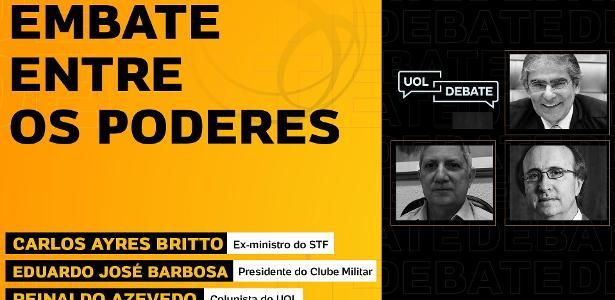 Reinaldo Azevedo, Ayres Britto e General Barbosa discutem crise política - 18/06/2020