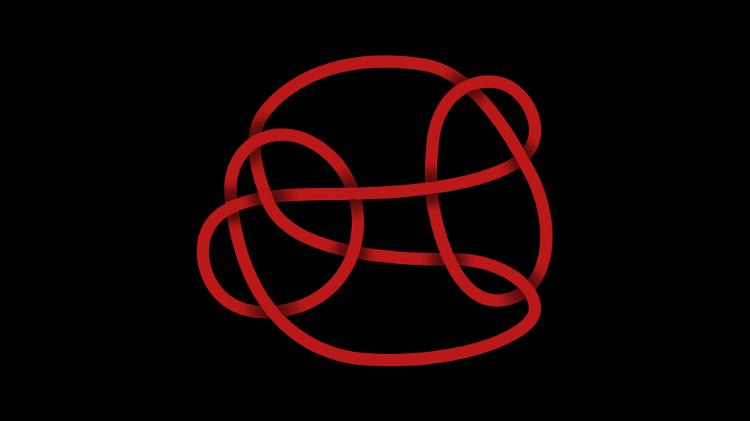 O nó de Conway, introduzido em 1970, tem 11 cruzamentos e, graças a Piccirill, agora é conhecido por não ser uma fatia - BBC