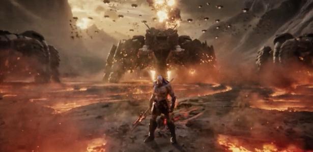 o teaser de Snyder Cut tem Mulher Maravilha e Darkseid; Veja