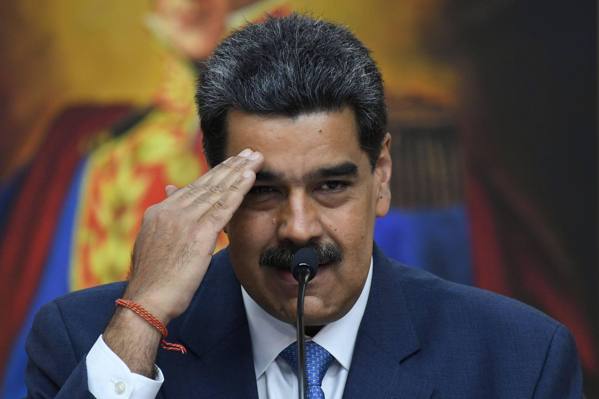 Para o ataque ao rival, Maduro imita Trump e chama o coronavírus de 'vírus colombiano' - 30.06.2020. - O mundo