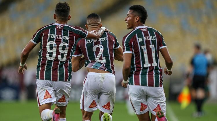 Evanílson e Marcos Paulo voltaram a entrar por dentro, e o Fluminense foi mais perigoso no ataque - Lucas Merçon / Fluminense FC - Lucas Merçon / Fluminense FC