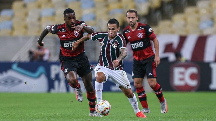 Dodi começou bem como o terceiro meio-campista de Odair Hellmann no Fluminense - Lucas Merçon / Fluminense FC - Lucas Merçon / Fluminense FC