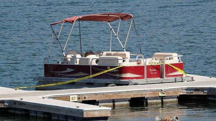 O navio usado pela atriz Naya Rivera e seu filho - Reprodução - Reprodução