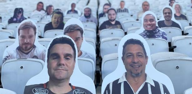 Fãs de acrílico e som via app: público sobre o retorno do futebol brasileiro - 13.07.2020