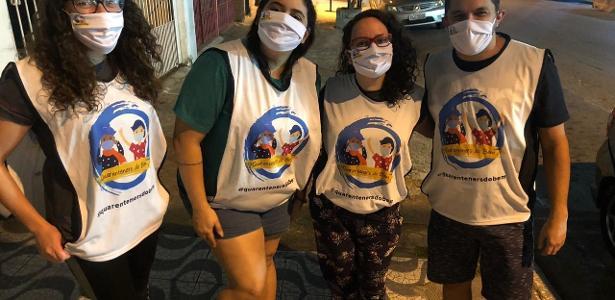 Pandemia une grupo do leste de SP contra a fome nas ruas - 20.07.2020