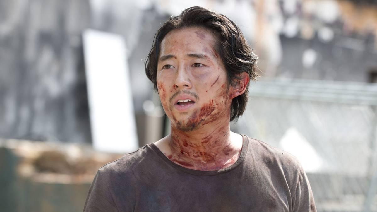 Steven Yeun como Glenn em The Walking Dead (Fonte: Reprodução)