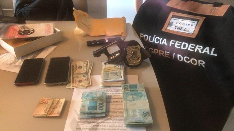 27 de julho de 2020 - Nariz apreendido durante operação de PF contra Rejana Dias (PT-PI) - Detecção / PF - Detecção / PF