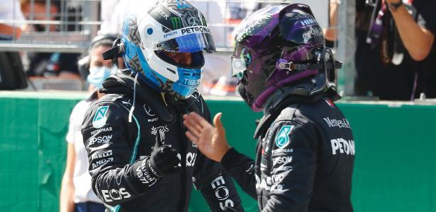 F1: Como o Mercedes 2020 obteve uma vantagem tão grande? - Posição do poste