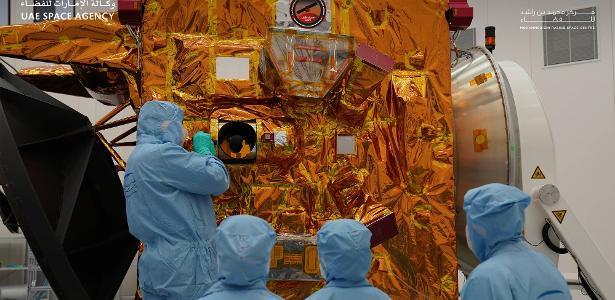 Além da missão a Marte, os Emirados Árabes Unidos se juntam a um grupo selecionado de astronomia - 20.07.2020