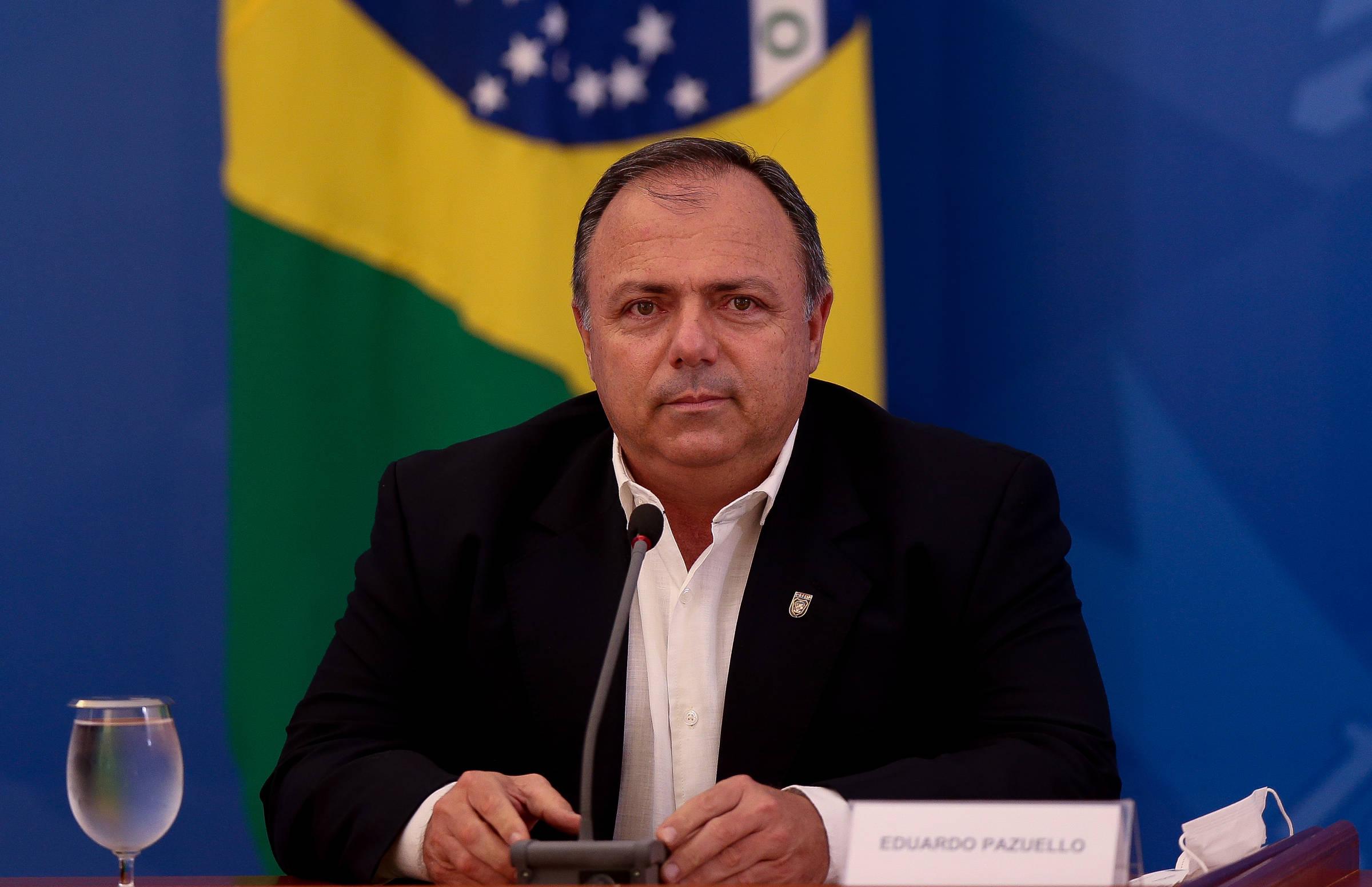 Guias de Bolsonaro e Pazuello chama Gilmar Mendes - 15.7.2020. - Monica Bergamo