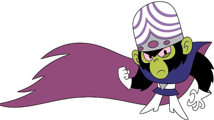 Um alienígena parecido com Mad Monkey, um personagem de