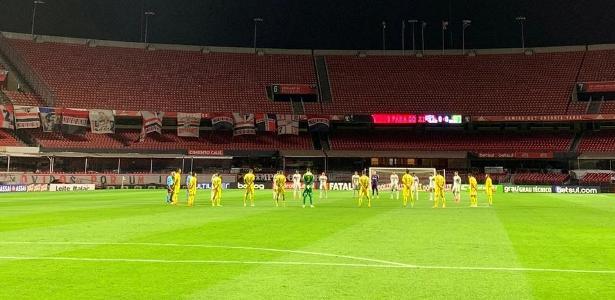 Mirassol vence por 3-2, e o favorito São Paulo é eliminado no meio do Morumbia – 29.07.2020.
