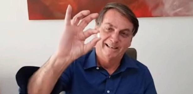 O Facebook decidiu manter o vídeo em que Bolsonaro leva cloroquina 3 meses depois de excluir a publicação devido a 'desinformação' - 07/08/2020