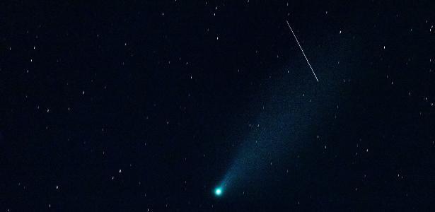 Um incrível vídeo mostra a passagem do cometa Neowise pelo céu do Piauí; hour - 28.07.2020