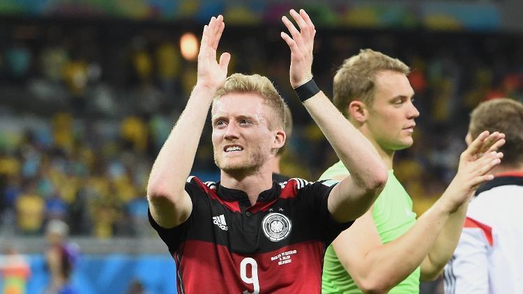 Na história da Alemanha por 7 a 1 sobre o Brasil, o atacante alemão marcou dois gols - Marcus Brandt / Aliança de Imagens via Getty Images - Marcus Brandt / Aliança de Imagens via Getty Images