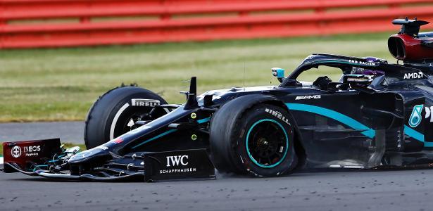 Hamilton vence com um pneu furado na última volta e abre vantagem na Copa do Mundo - 02/02/2020